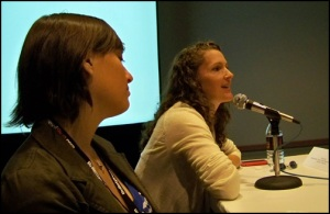 Carolyn and Nicki (Blog World Expo 2008)