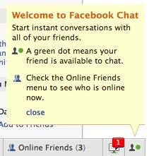 Facebook notification icon
