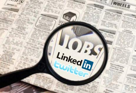 la recherche d'emplois sur internet linkedin