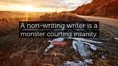 Kafka on Writing or How to Beat Writer's Block
